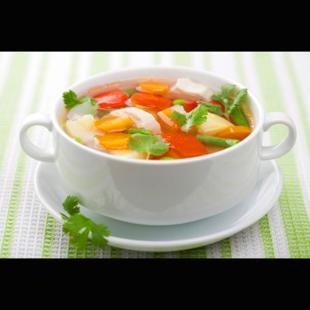 Gemüsesuppe
