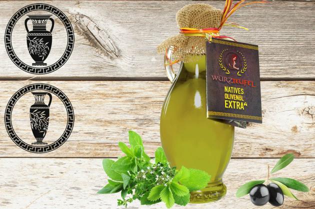 Mediterranes  Kräuteröl