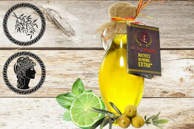 Limetten-Olivenöl