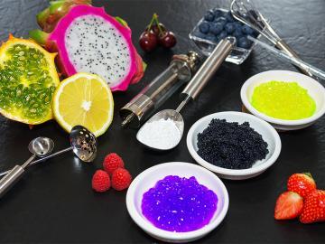 Hirschhornsalz, Ammoniumhydrogencarbonat