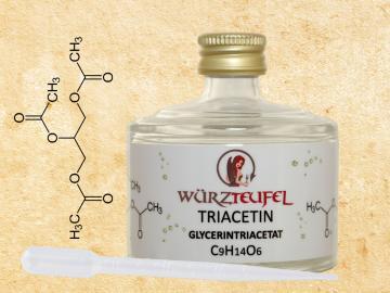 Triacetin, Glycerintriacetat