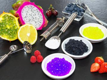 Gummi arabicum, Stücke