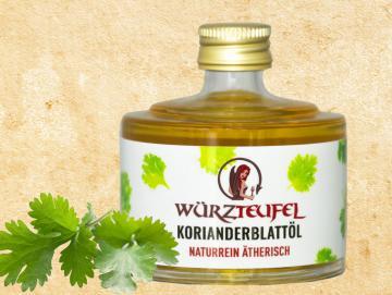 Korianderblattöl ätherisch
