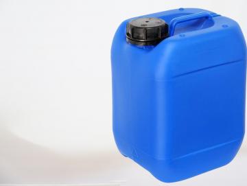 Kanister 10 Liter, blau mit Deckel