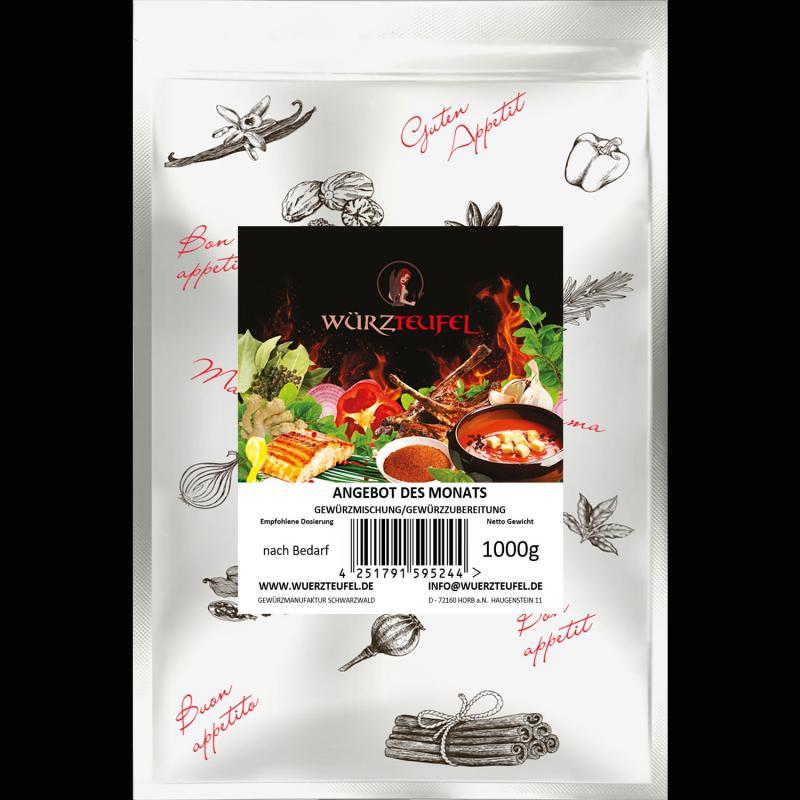 Angebot des Monats - Gewürzmischung Wasabi - Gewürzzubereitung