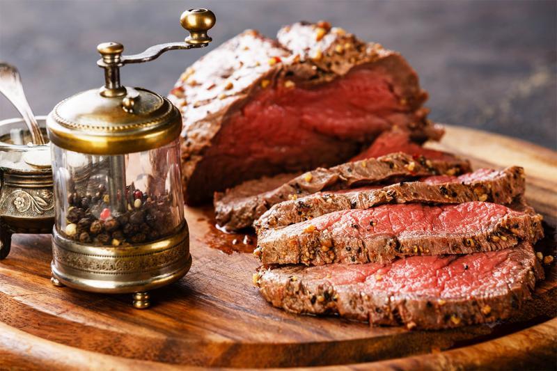 Aroma Rindfleisch gebraten