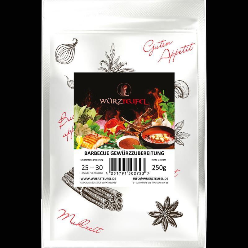 BBQ Barbecue Gewürzzubereitung