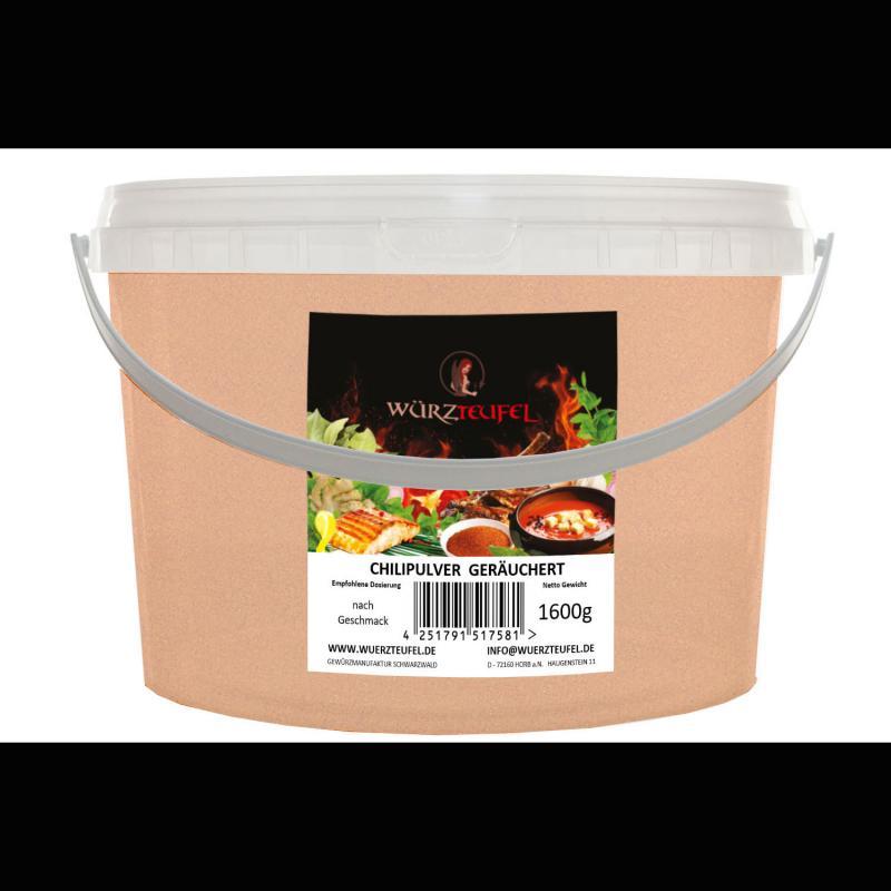 Chilipulver, geräuchert
