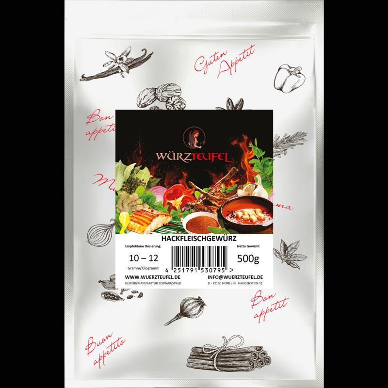 Hackfleisch - Gewürz