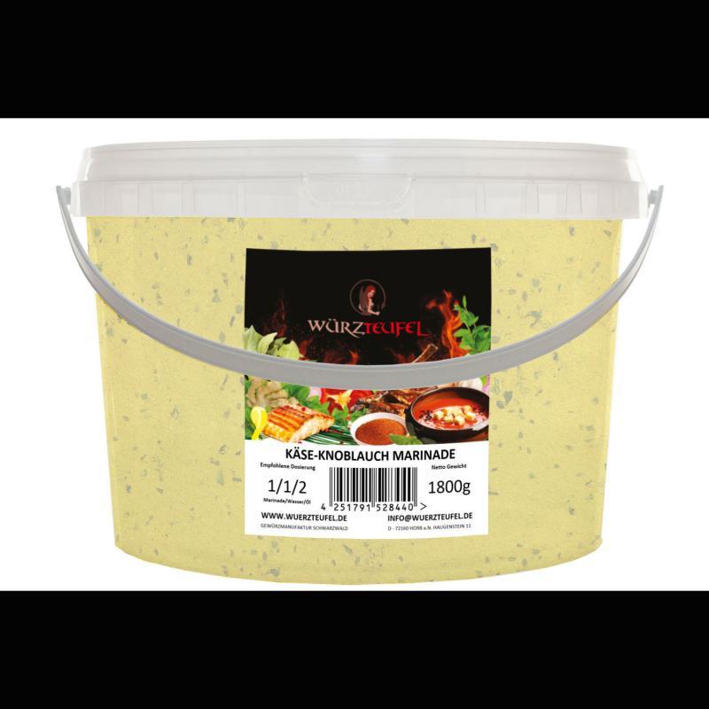 Käse-Knoblauch Marinade