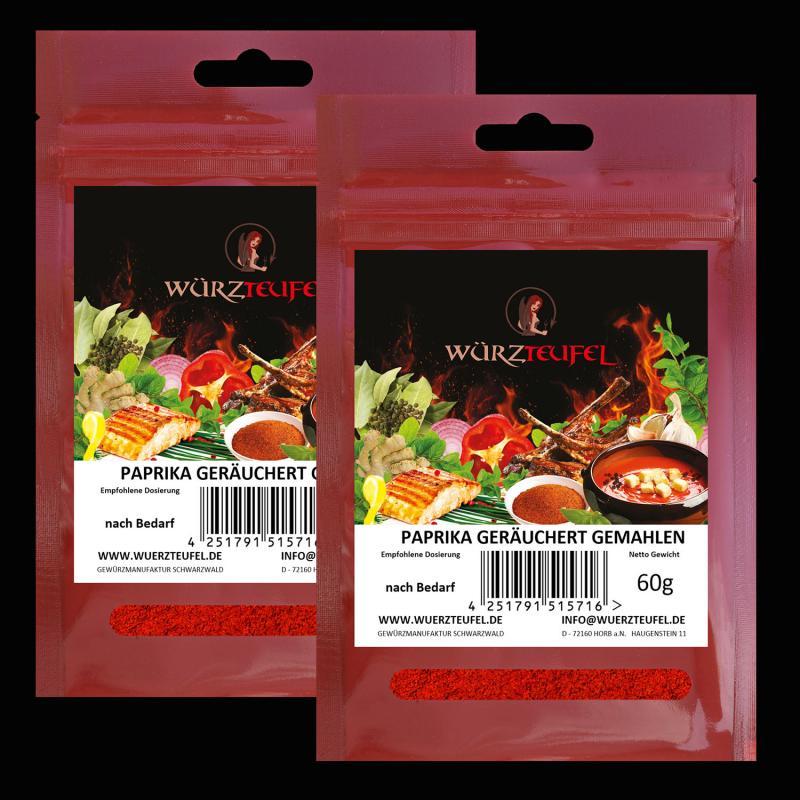 Paprikapulver, geräuchert, smoked paprika