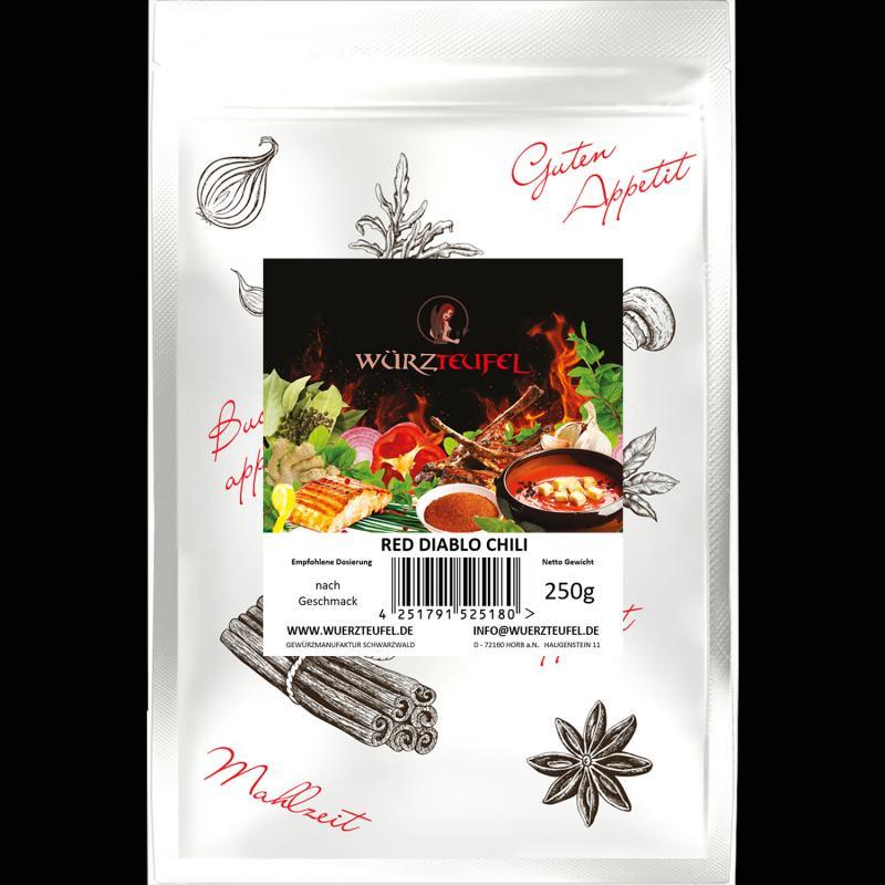 Red Diablo Chili, Hot Diavolo Chili