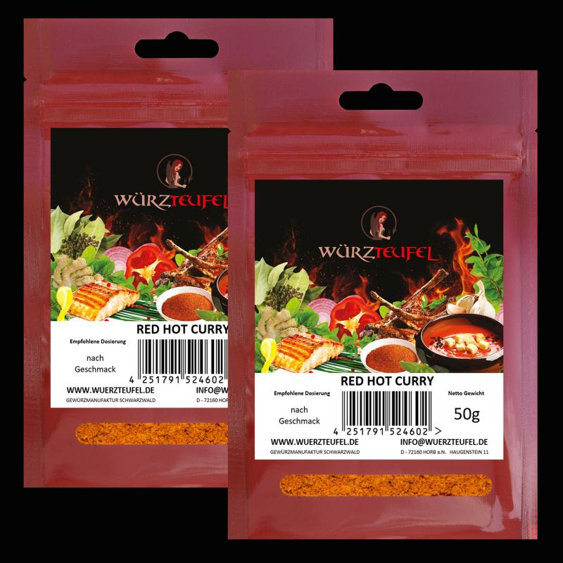 Red Hot Curry, Curry scharf