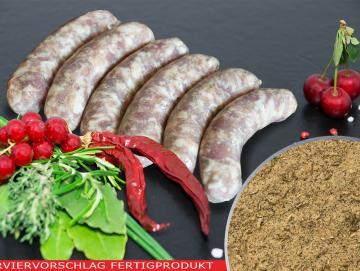 Salsiccia Classico Bratwurst Gewürzzubereitung