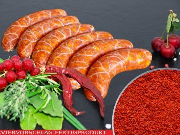 Salsiccia Rosso Bratwurst Gewürzzubereitung